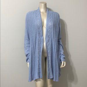 ✨NWT✨ ELLE light blue open front sweater cardigan